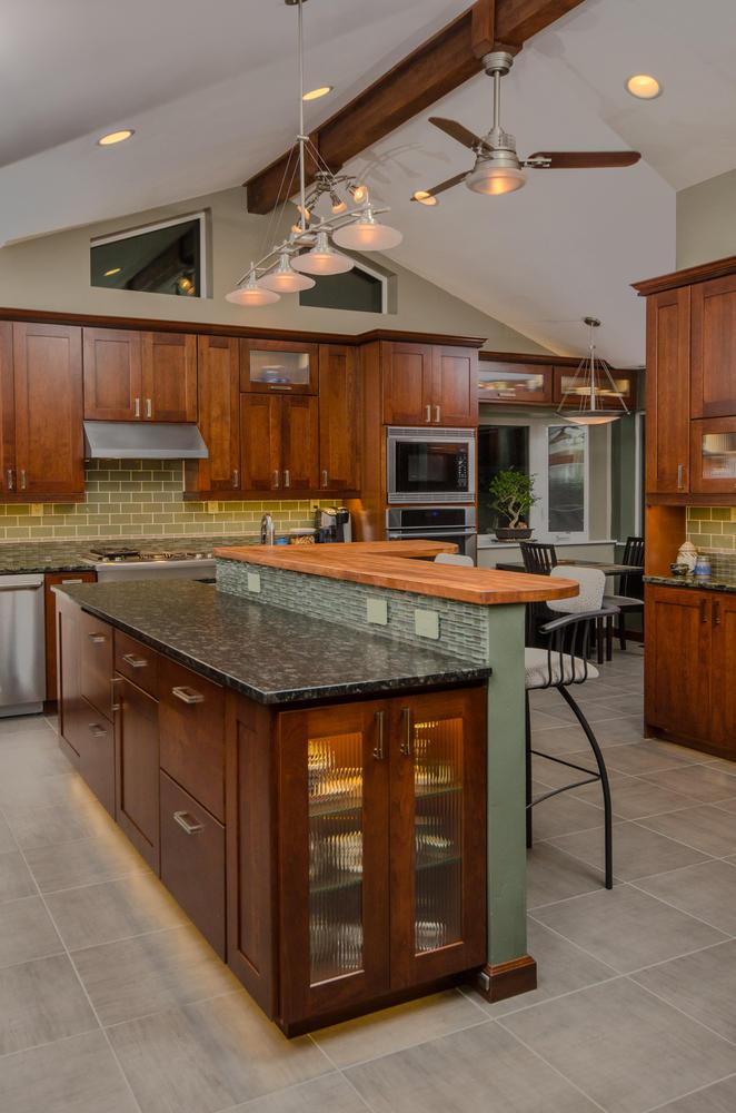 Modern Gentleman's Kitchen - Anchorage, AK