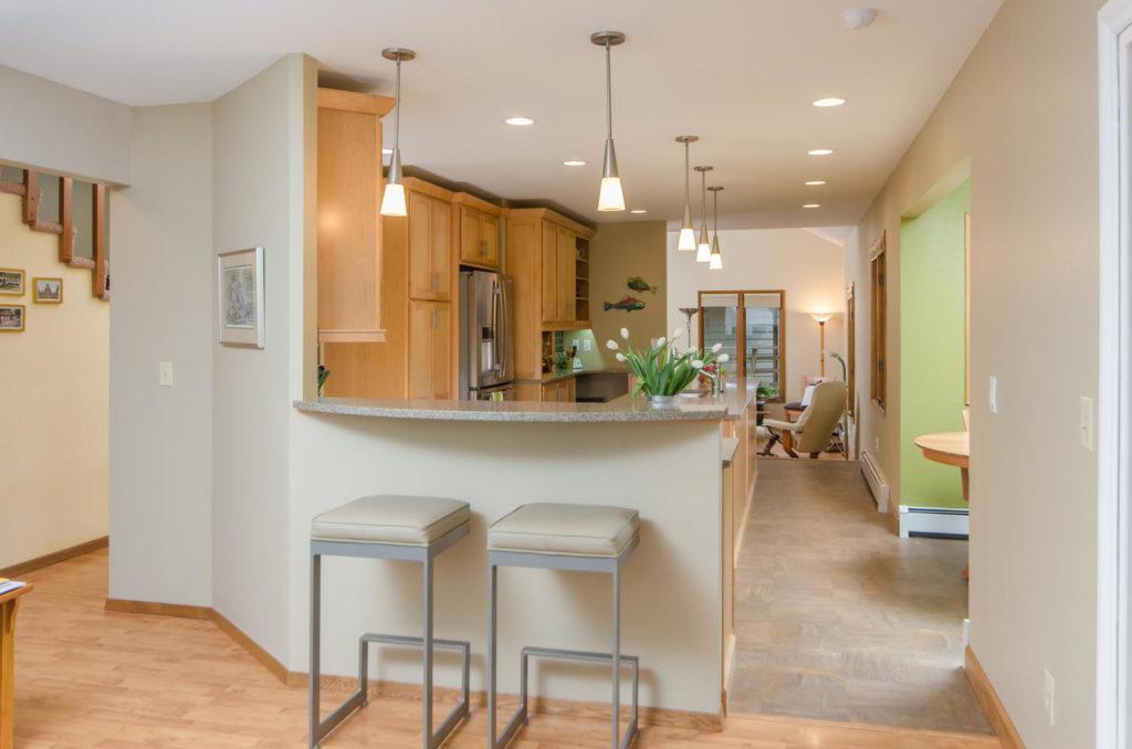 Light and Modern Maple Kitchen - Anchorage, AK