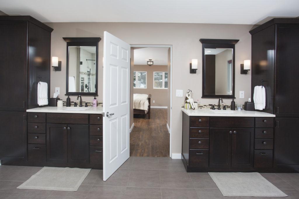 Modern Spa Master Bathroom - Anchorage, AK