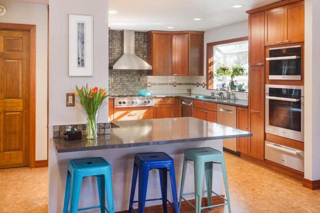 Nature Inspired Kitchen Remodel - Anchorage, AK