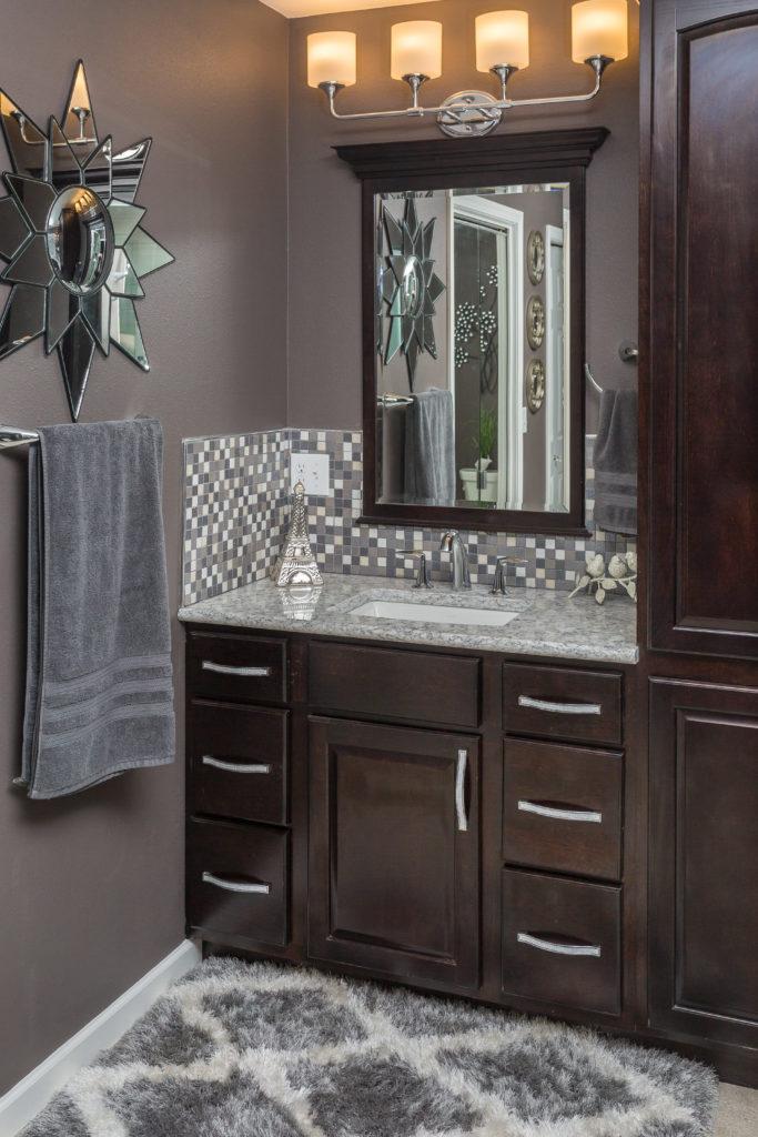 Glam Master Bathroom Remodel - Anchorage, AK