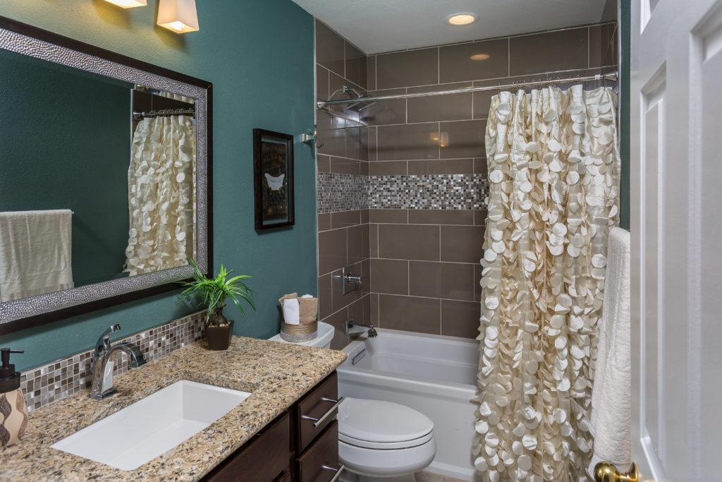 Glam Guest Bathroom Remodel - Anchorage, AK