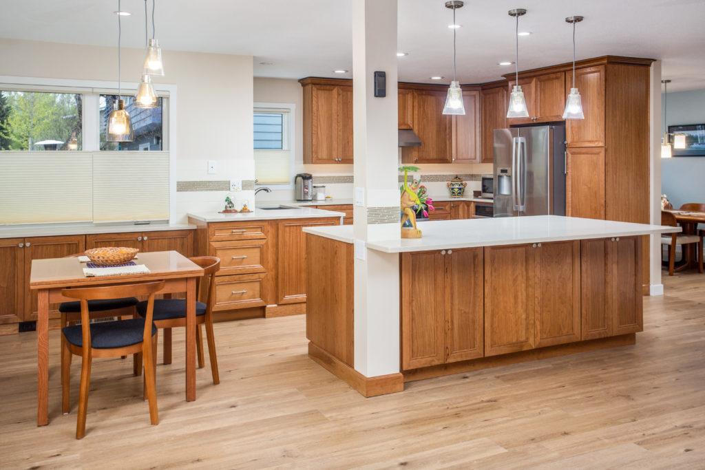 Classic Cherry Kitchen with Island - Anchorage, AK