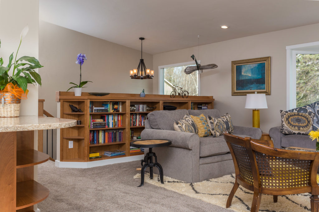 Casual Modern Living Room Update - Anchorage, AK