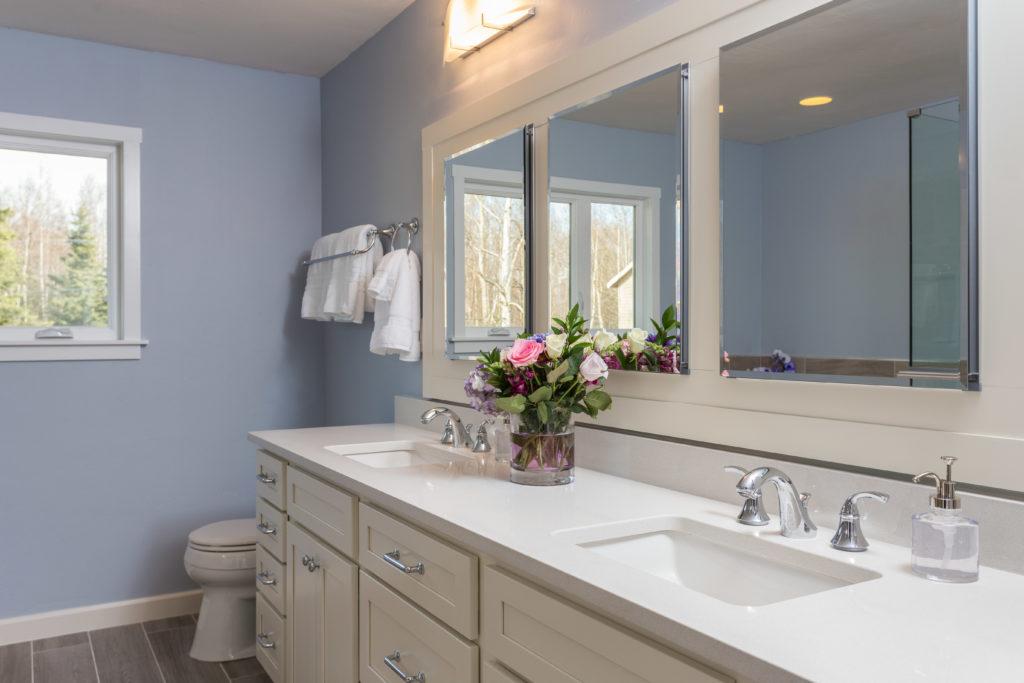 Casual Modern Master Bathroom Remodel - Anchorage, AK