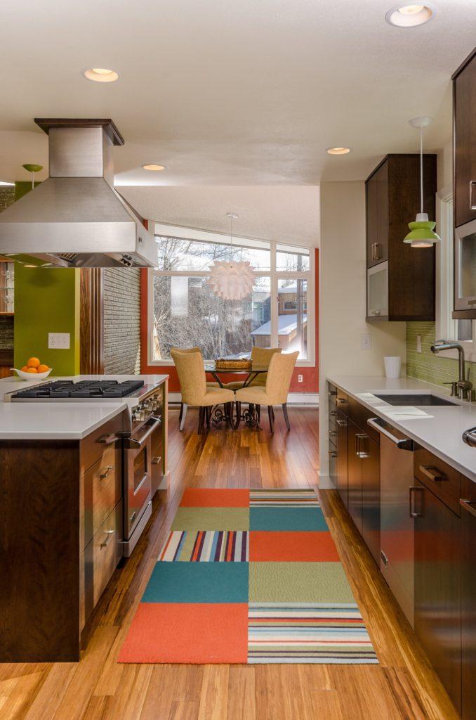 Mid Century Modern Kitchen - Anchorage, AK